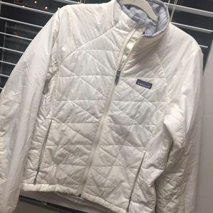 Patagonia white coat